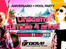 GROOVE (Pinto, Madrid):   4º Aniversario ÚNIKA FM