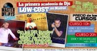 ACABAN LAS CLASES...AHORA ES EL MOMENTO: MASTER DEEJAYS SCHOOL 2x1 !!!