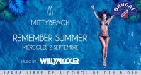 Noche: RESIDENTE @ MITTYBEACH (Cats)