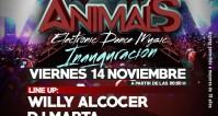 Noche: INVITADO @ Inauguración ANIMALS (sala Privé, Madrid)